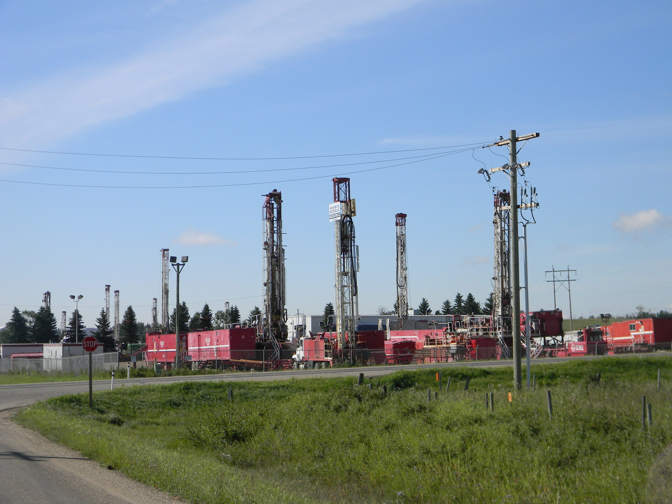 Drilling Rig Site