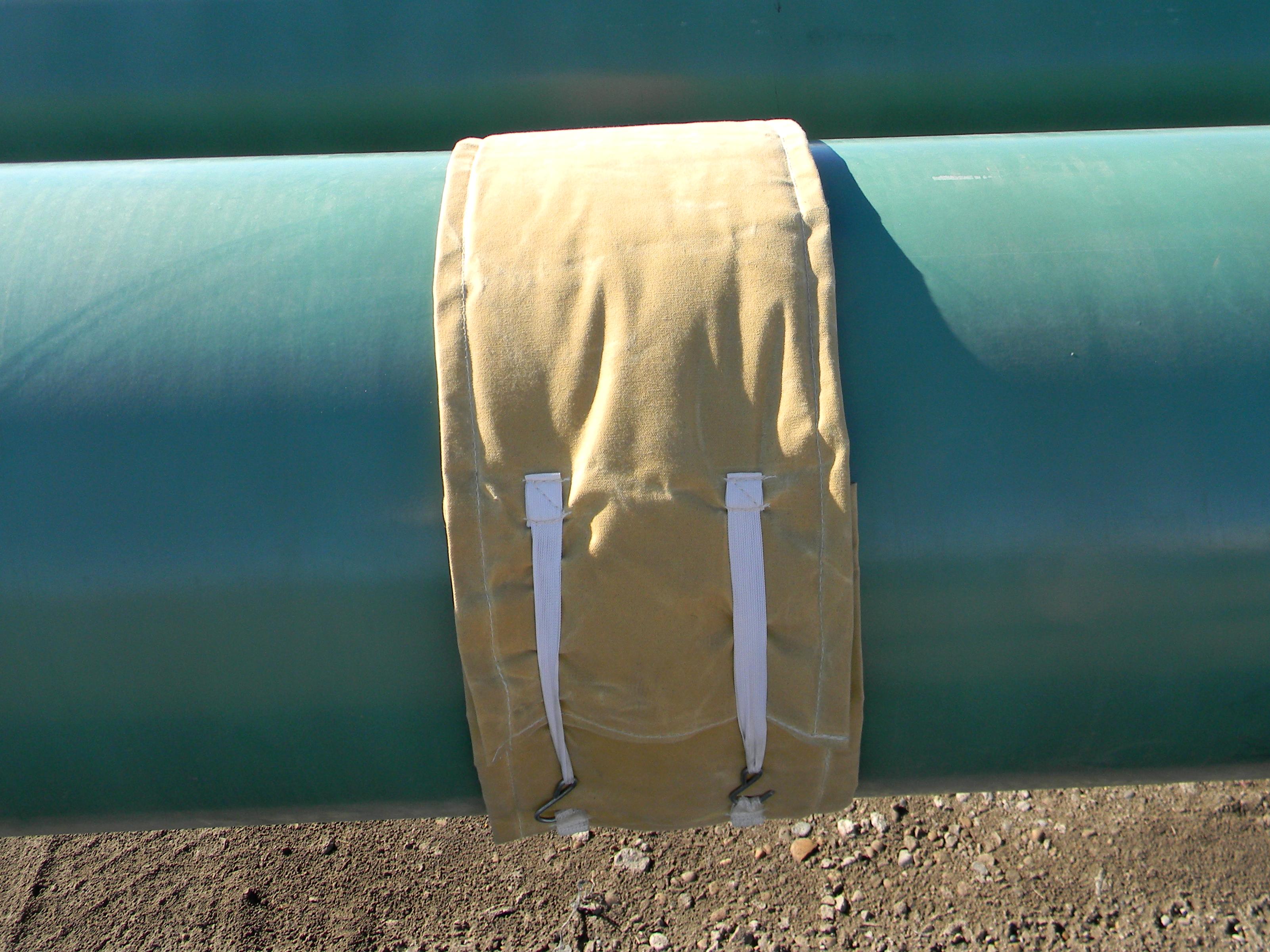 """24"""" Welding / Cooling Pipeline Blanket"""