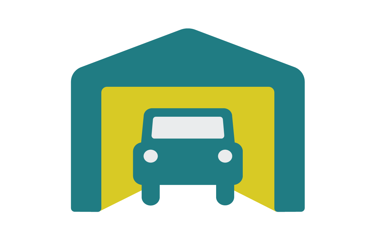 Weather All Shelters - Portable Garage Icon